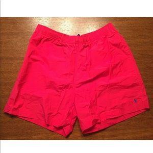 polo Sport ralph lauren Neon Swim Trumks Size XL